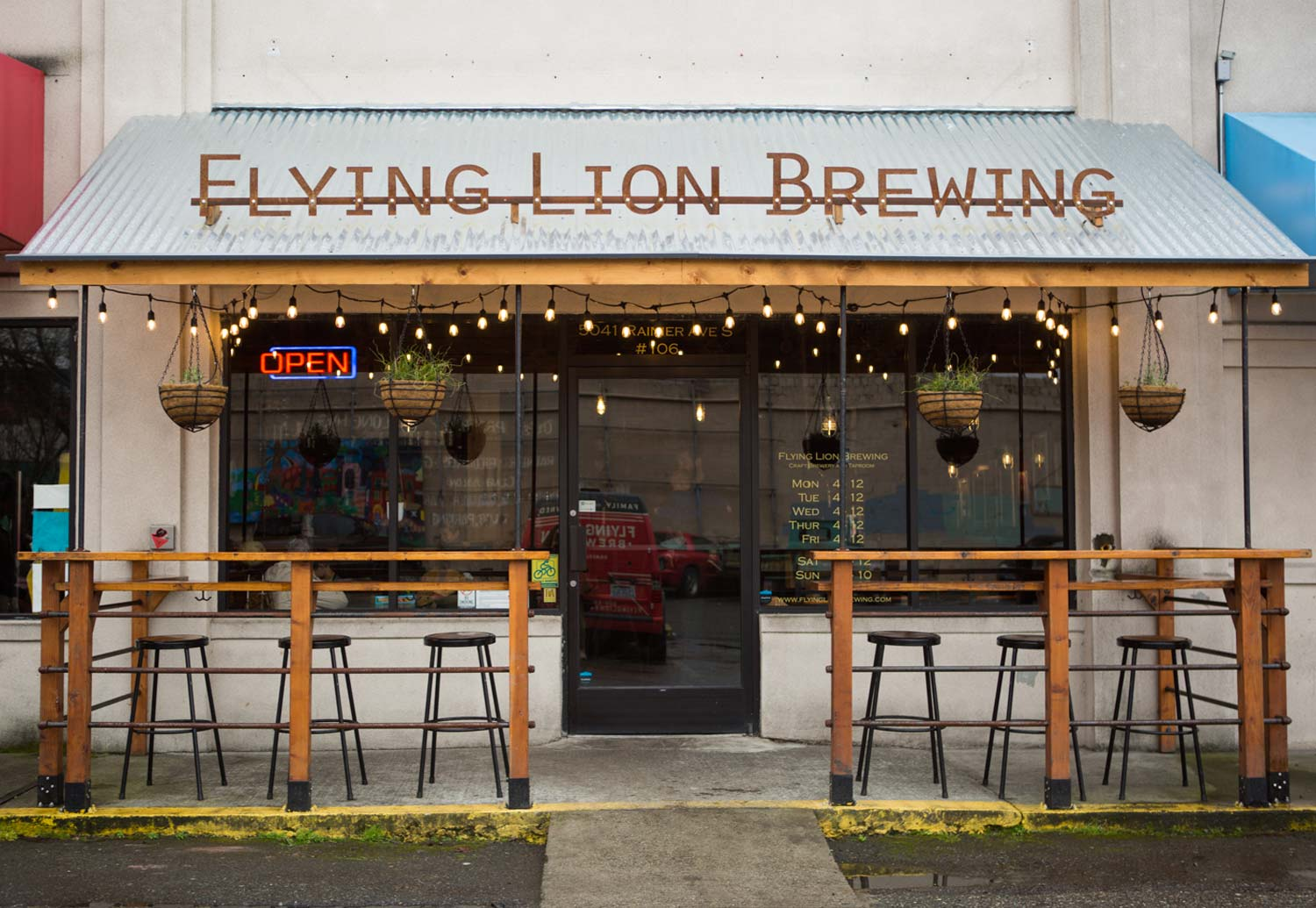 Flying Lion Brewing - Columbia City, Seattle